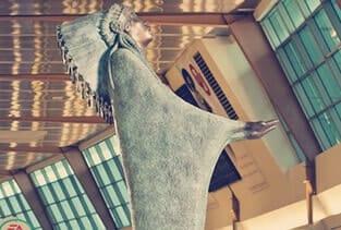 Prayer Sculpture by Allan Houser Haozous