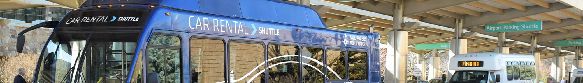 OKC Airport Car Rental Shuttle