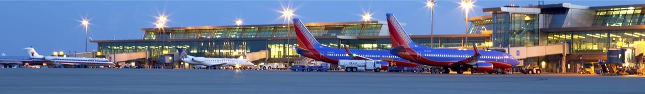 Southwest Airplane on WRWA Tarmack