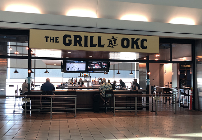 Front facing view of The Grill at OKC, Bar and Restaurant
