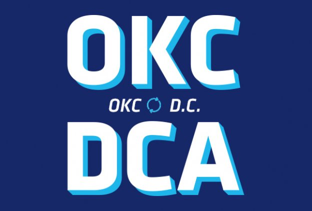 Nonstop flights from OKC to DCA on Southwest Airlines